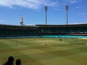 SCG Cricket @ 20100212 (Sunny)