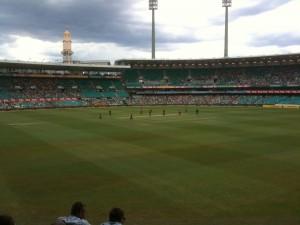 SCG Cricket @ 20100212 (Cloudy)