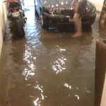 Flooded Garage (Courtesy of David Clark)