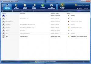 Windows Home Server Console