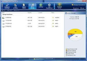 Home Server Console (Server Storage)