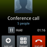 Mobile Call Conference on Optus
