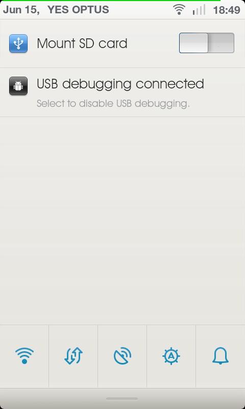 New MIUI Default Toggle Screen