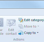 Windows Live Mail - Cleanup Contacts