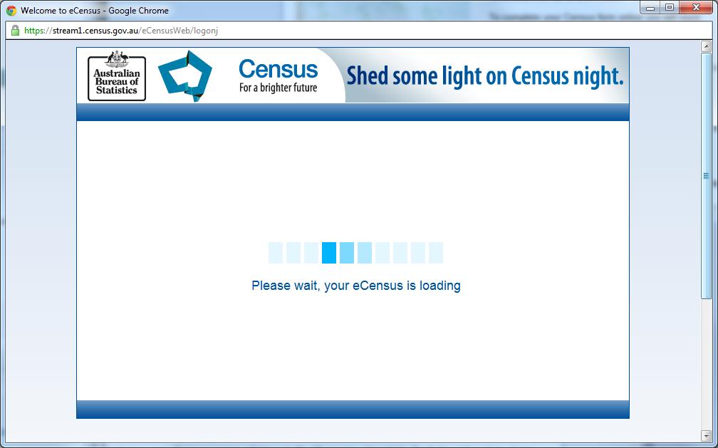 eCensus Loading