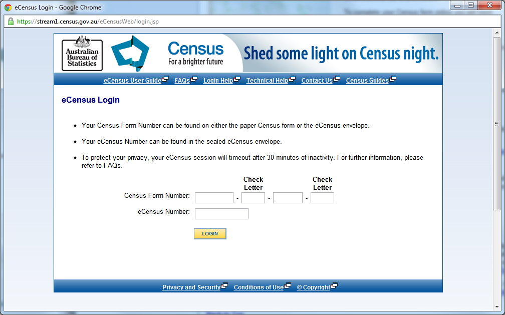 eCensus Registration