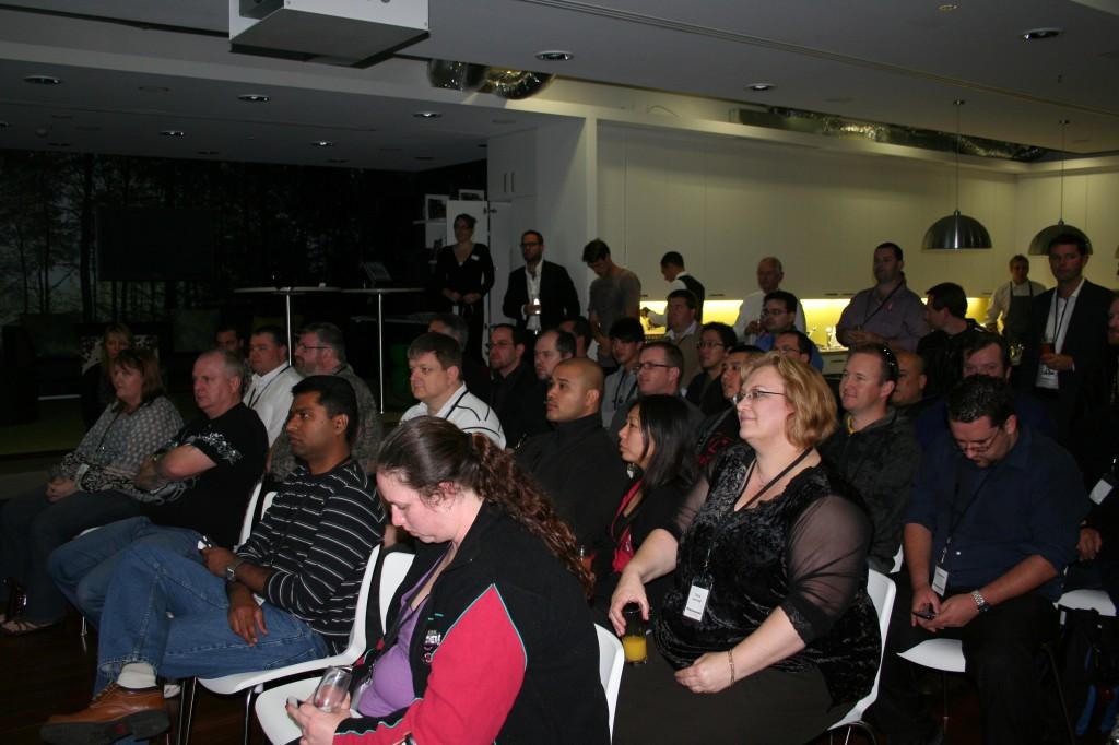 The Insider Crew in Attendance