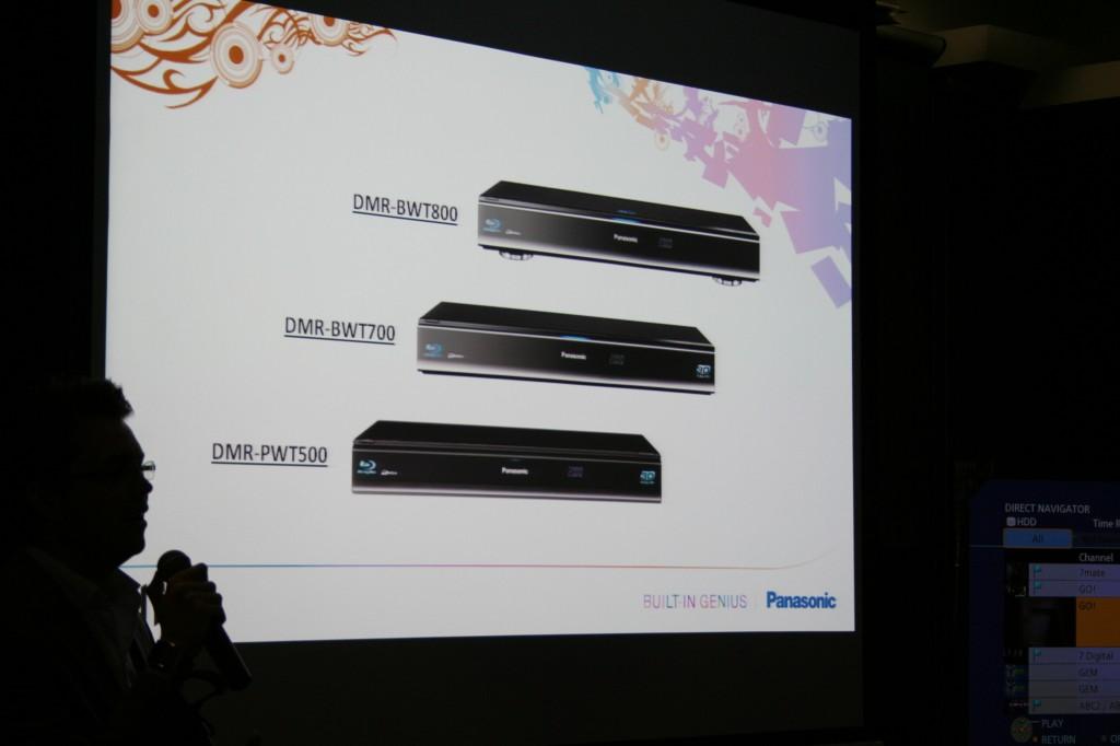 The 2011 Panasonic Blu-ray DVD Recorder Range