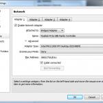 Update Network Settings