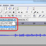 Capturing Audio Device Output in Audacity