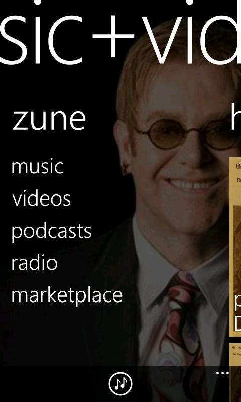 Zune on Windows Phone