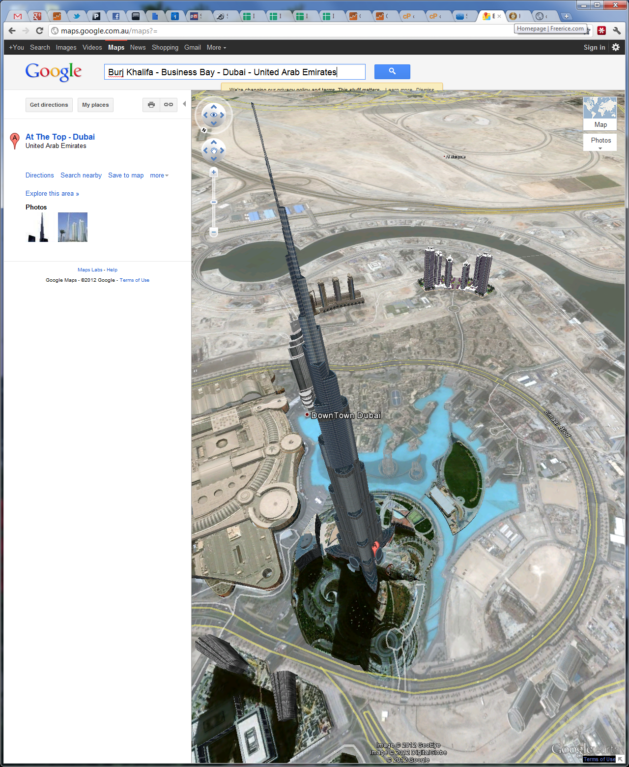 Google Map Dubai Directions – Uae Maps and Directions