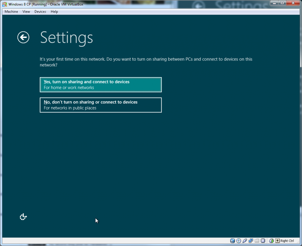 Windows Install - Step 2.1 (Updates and SmartScreen)