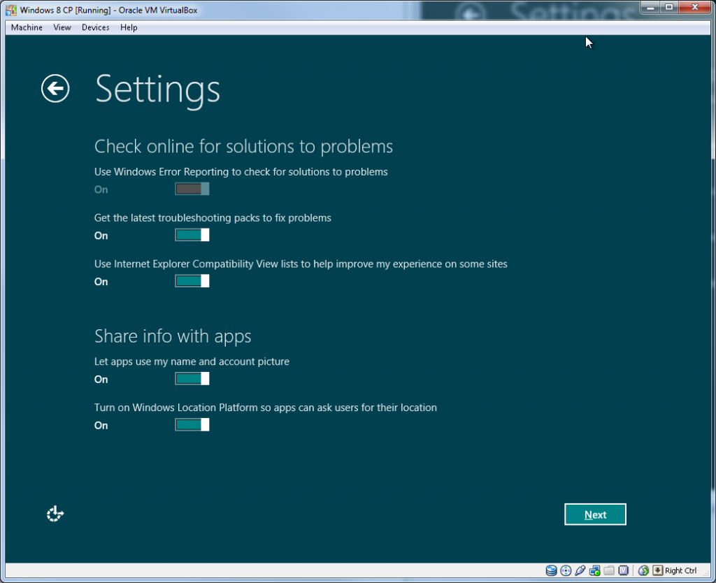 Windows Install - Step 2.3 (Solutions and Info Sharing)
