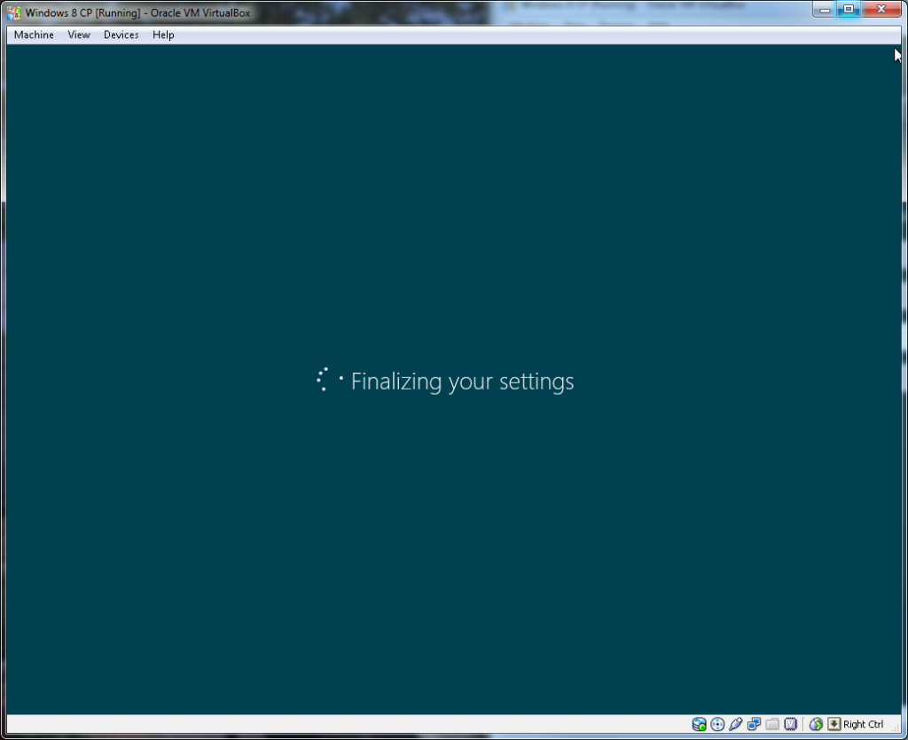 Windows Install - Step 4 (Finalising Setup)