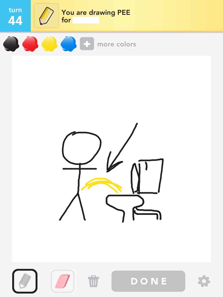 Draw Something - Bad Words