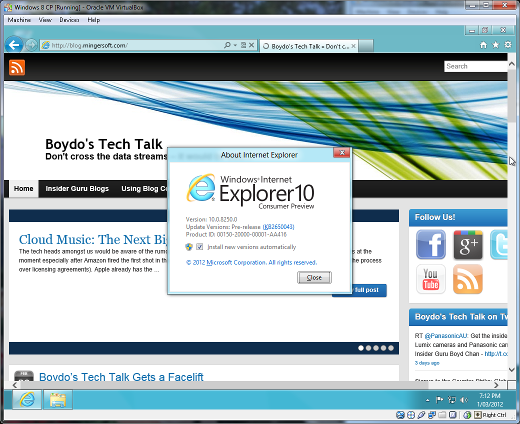 Windows 8 Comsumer Preview – Boydo's Tech Talk