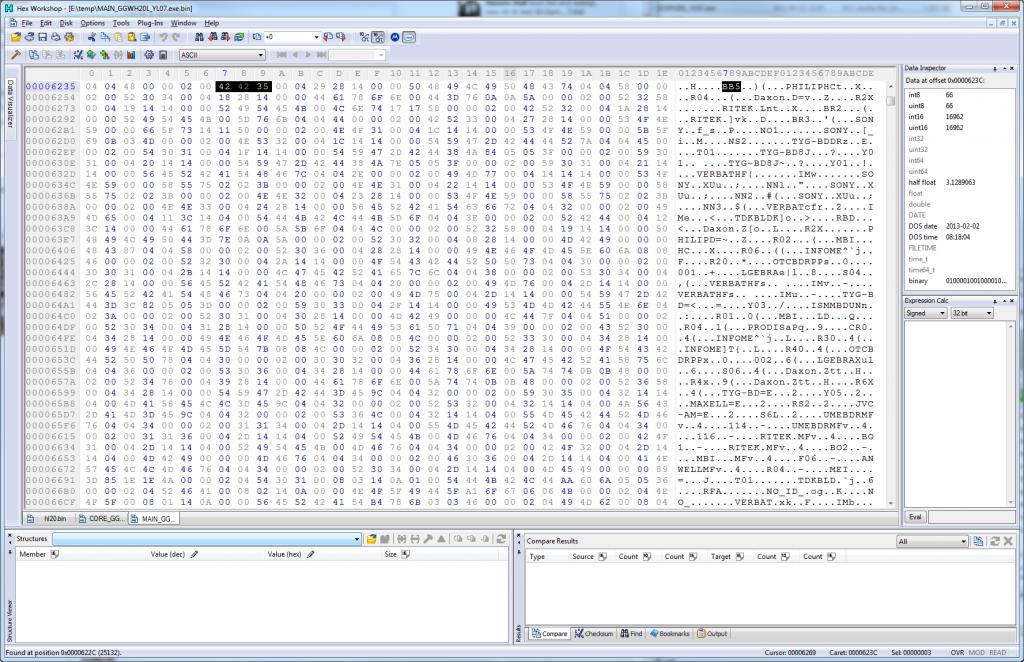Hex Workshop - GGW-H20L YL07 Firmware Typo