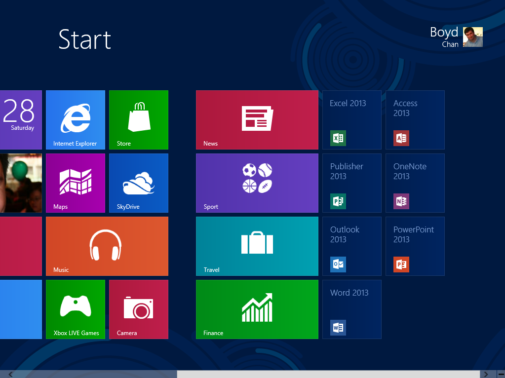 Office 2013 Icons - Windows 8