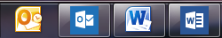 Outlook 2010 & 2013 and Word 2010 & 2013 Icons