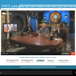 Windows RT Screenshot (Live TWiT Streaming in IE10 Metro)