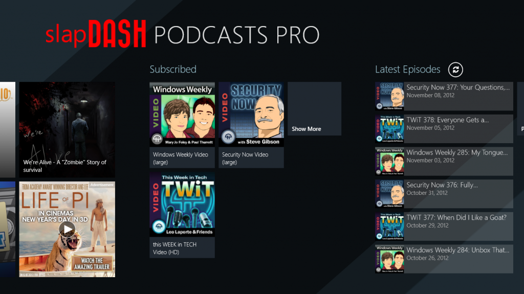 SlapDash Podcasts Pro