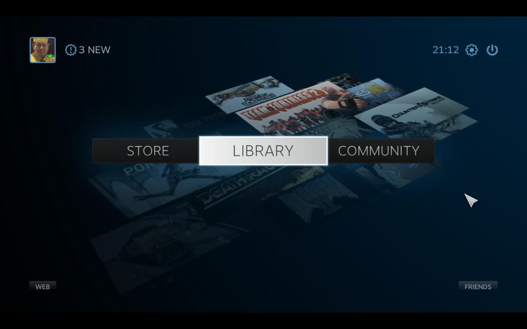 Steam - Big Picture Hub