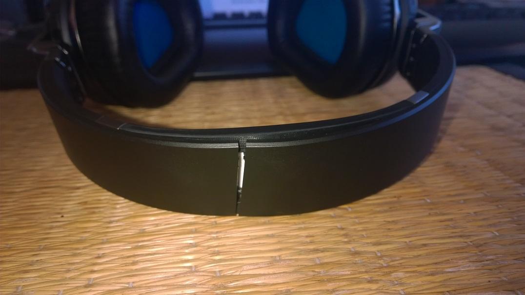 My broken Logitech UE9000 headphones :(