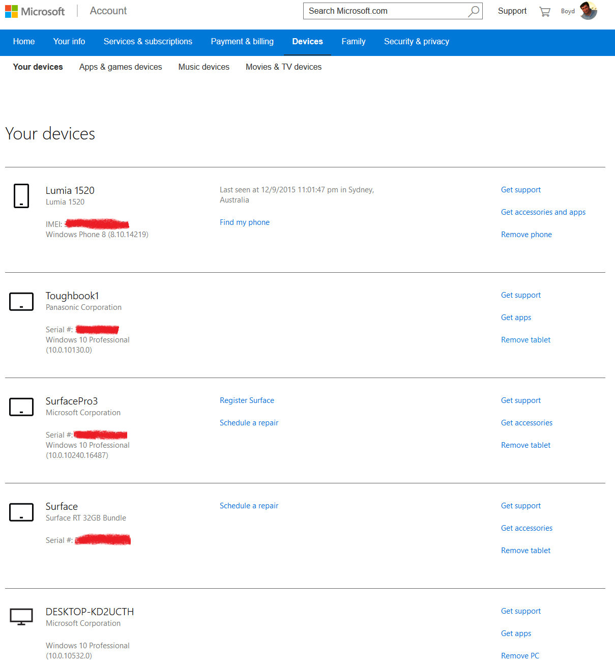 How to Remove Devices From a Microsoft Account – Boydo's Tech Talk