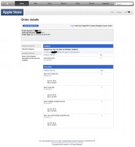 Apple Order (iPad Dock)