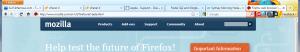 Firefox 4 (New Toolbar)