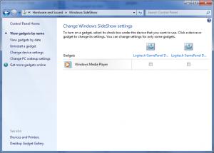 Windows SideShow