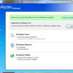 EULAlyzer Home Screen