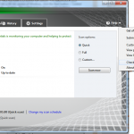 Microsoft Security Essentials - Manually Check for Software Updates