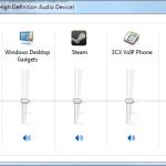 Windows 7 Volume Mixer