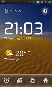 Google AOSP Alarm Clock App