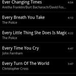 Google AOSP Music App