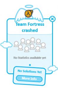 Team Fortress Crashing Under Windows 7