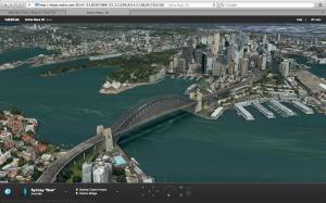 Nokia Maps 3D - Sydney Harbour Bridge