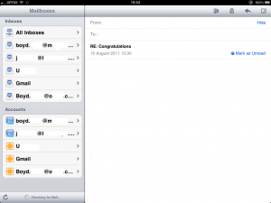 Unified Mail Under iOS