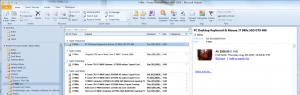 eBay RSS Feed in Outlook 2010