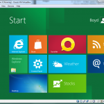 Windows Install - Step 06 (Windows 8 Start Screen)