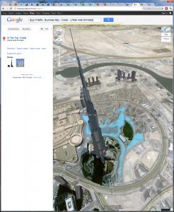 Burj Khalifa, Dubai - Google Maps