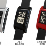 Pebble Smartwatch Colours