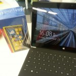 Nokia Lumia 920 with Microsoft Surface