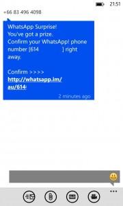 Spim on WhatsApp