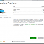 Weird Purchase Confirmation Screen